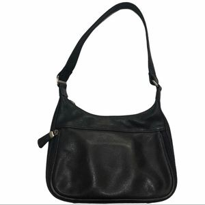 Fossil Handbag Vintage Leather Pebble Grain Black
